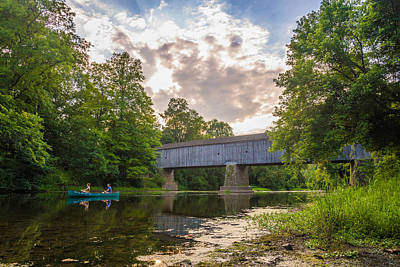 Bucks County Photograph - Good To Canoe by Kristopher Schoenleber