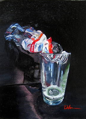 Painting - Good To The Last Drop by LaVonne Hand