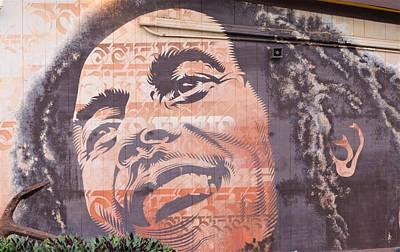Photograph -  Good Vibes With Bob Marley by Jewels Blake Hamrick