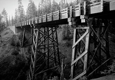 Photograph - Goodbye Creek Bridge - Crater Lake - Oregon by Daniel Hagerman