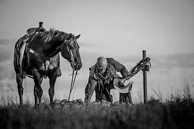Photograph - Goodbye On The Range by Fast Horse Photography