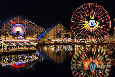 Photograph - Goodbye, Paradise Pier by Eddie Yerkish