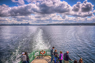 Photograph - Goodbye Seattle by Spencer McDonald