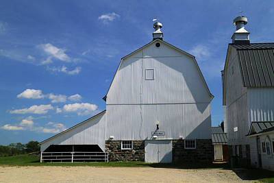 Photograph - Goodells Barn 2 by Mary Bedy