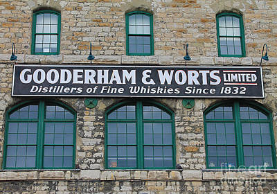 Photograph - Gooderham And Worts Distillery by Nina Silver
