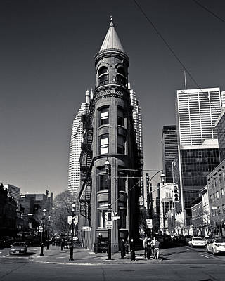 Photograph - Gooderham Flatiron Building Toronto Canada by Brian Carson