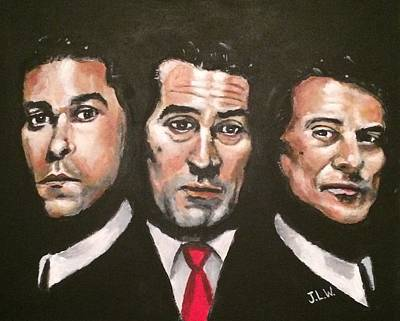 Painting - Goodfellas by Justin Lee Williams