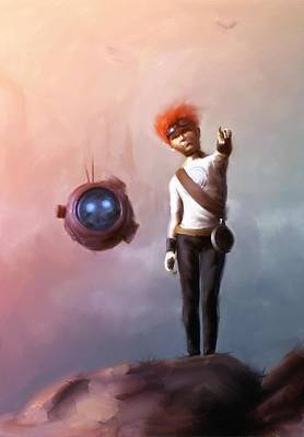 Science Fiction Digital Art - Goodkid by Jamie Fox