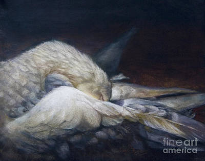 Waterfowl Painting - Goodnight Grace by Sandy Byers