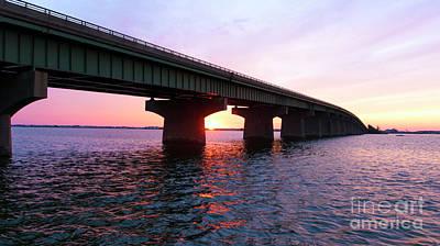 Photograph - Goodnight Long Beach Island by John Rizzuto