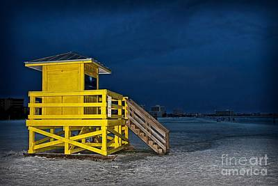 Photograph - Goodnight Siesta Key by DJ Florek