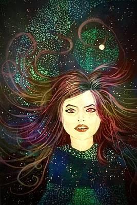 Painting - Goodnight Starshine by Joel Tesch