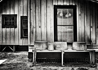 Washtub Photograph - Good Old Days by Patrick M Lynch