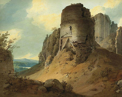 Painting - Goodrich Castle by Hugh William Williams