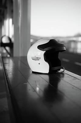Photograph - Goodwood Helmet by Robert Phelan