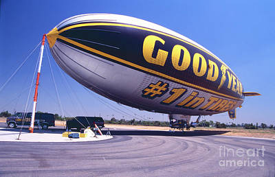 Photograph - Goodyear #1 by Paul W Faust - Impressions of Light