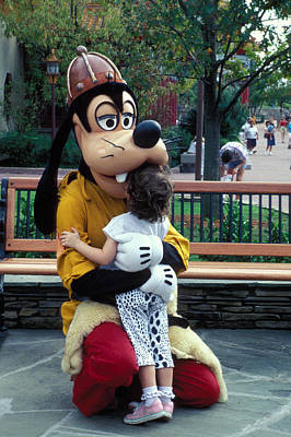 Disney Character Photograph - Goofy Love by Carl Purcell