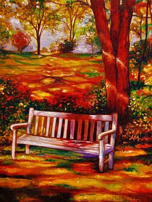 Painting - The Good Days by Emery Franklin
