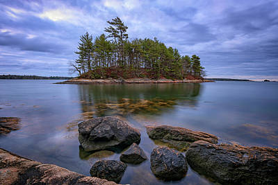Photograph - Googins Island by Rick Berk