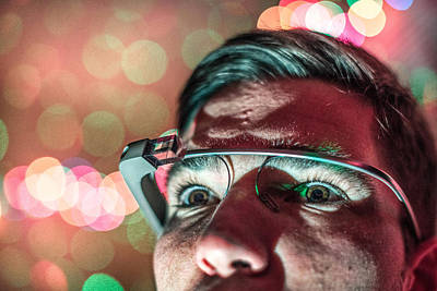Photograph - Google Glass by Spencer Bodian
