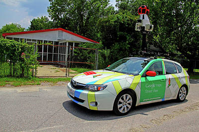 Photograph - Google Maps Steet View In Colatown 1 by Joseph C Hinson Photography