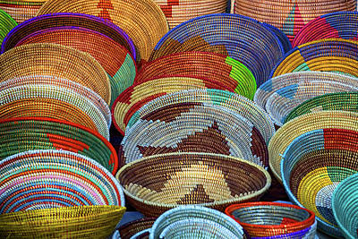 Photograph - Goombay Festival Baskets by John Haldane