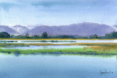 Painting - Goose Island Marsh by James Faecke