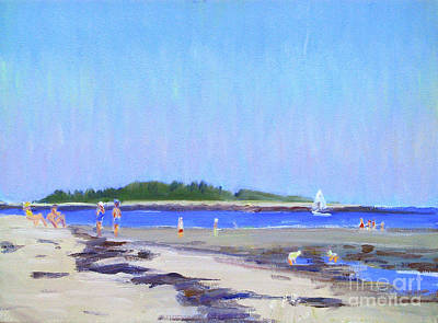 Painting - Goose Rocks Beach by Candace Lovely