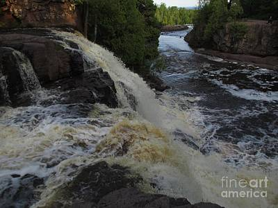 Photograph - Gooseberry Falls 2 by Barbara Yearty