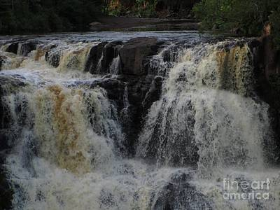 Photograph - Gooseberry Falls 3 by Barbara Yearty