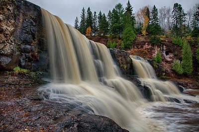 Photograph - Gooseberry Falls by CA Johnson