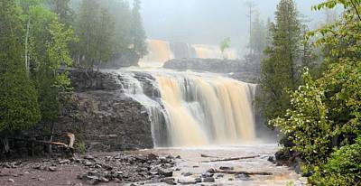 Photograph - Gooseberry Falls Panorama by Bonfire Photography
