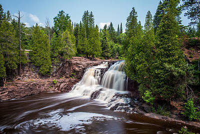 Gooseberry Falls Art Print by Paul Freidlund