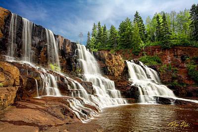 Photograph - Gooseberry Falls by Rikk Flohr