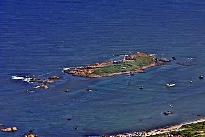Photograph - Gooseberry Island Newport Rhode Island by Duncan Pearson