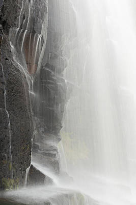 Urban Abstracts - Gooseberry Middle Falls Detail 1 by John Brueske