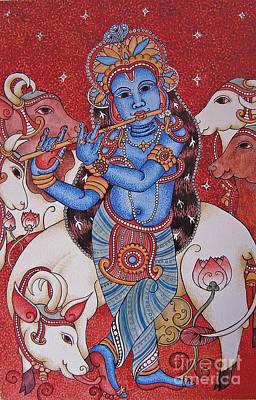 Wall Art - Painting - Gopal Krishna by Susanna Fields-Kuehl