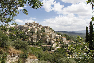 Art Print featuring the photograph Gordes In Provence by Stan and Anne Foster