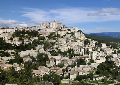 Photograph - Gordes Provence France by Alan Toepfer