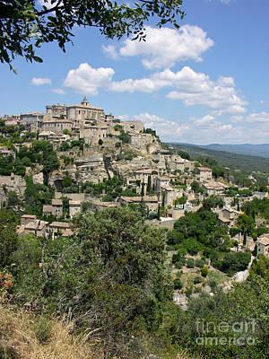Photograph - Gordes Provence by JK McCrea