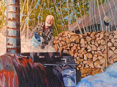 Tom Thomson Painting - Gordon by Phil Chadwick