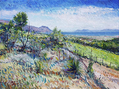 Painting - Gordons Bay Western Cape South Africa by Enver Larney