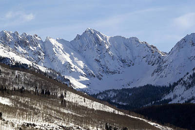 Gore Range Photograph - Gore Mountain Range Colorado by Brendan Reals