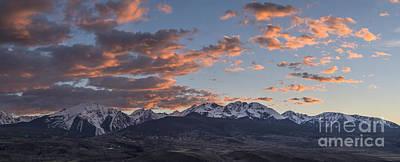 Gore Range Photograph - Gore Range Panorama 1 by Benjamin Reed