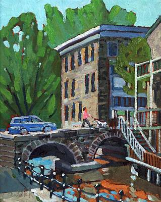 Painting - Gore Street Bridge by Phil Chadwick