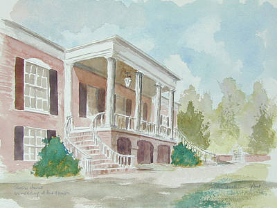 Tuscaloosa Painting - Gorgas House by Jim Stovall