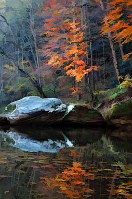 Photograph - Gorge Boulders 2 by Sam Davis Johnson