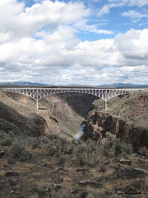 Photograph - Gorge Bridge Full by Ron Monsour
