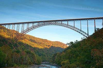 Photograph - Gorge Bridge by Steve Stuller