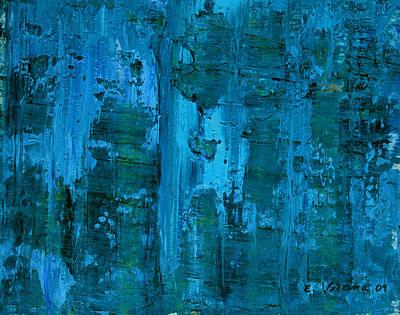 Gorge Art Print by Ethel Vrana
